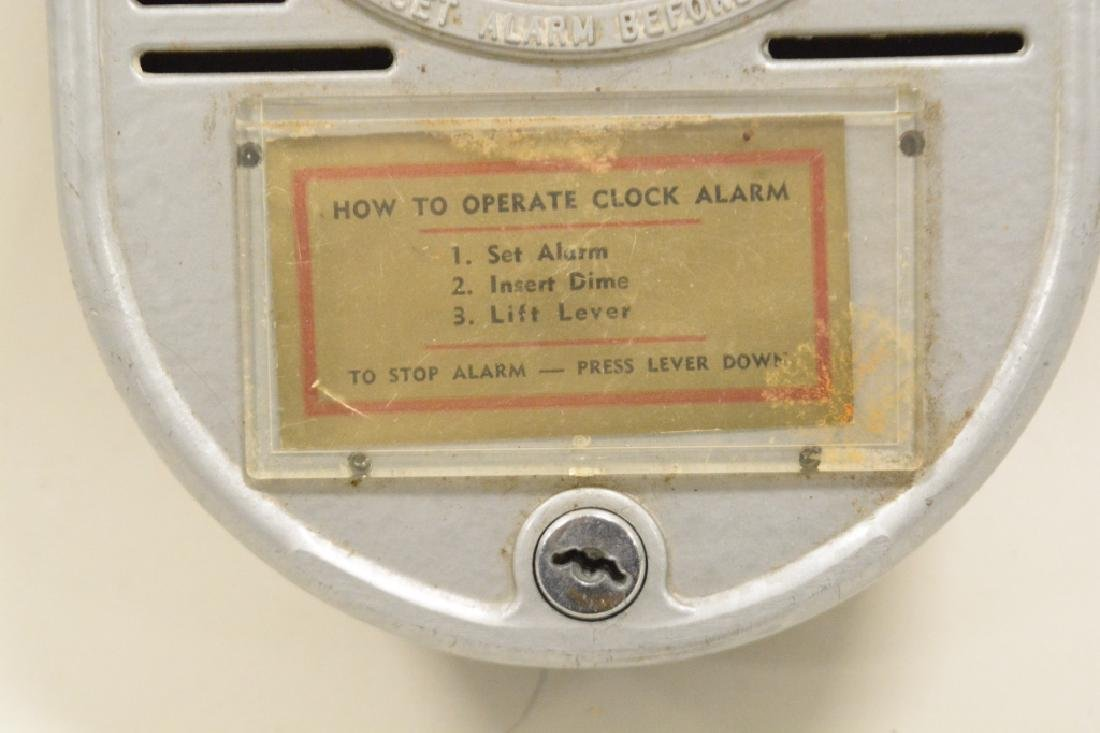 Coin Operated Chain Driven Hotel Alarm Clock - 2
