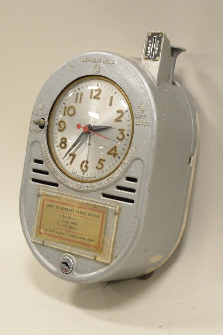 Coin Operated Chain Driven Hotel Alarm Clock - 3