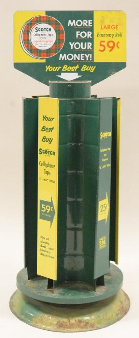 Scotch 3M Cellophane Tape Store Display Rack