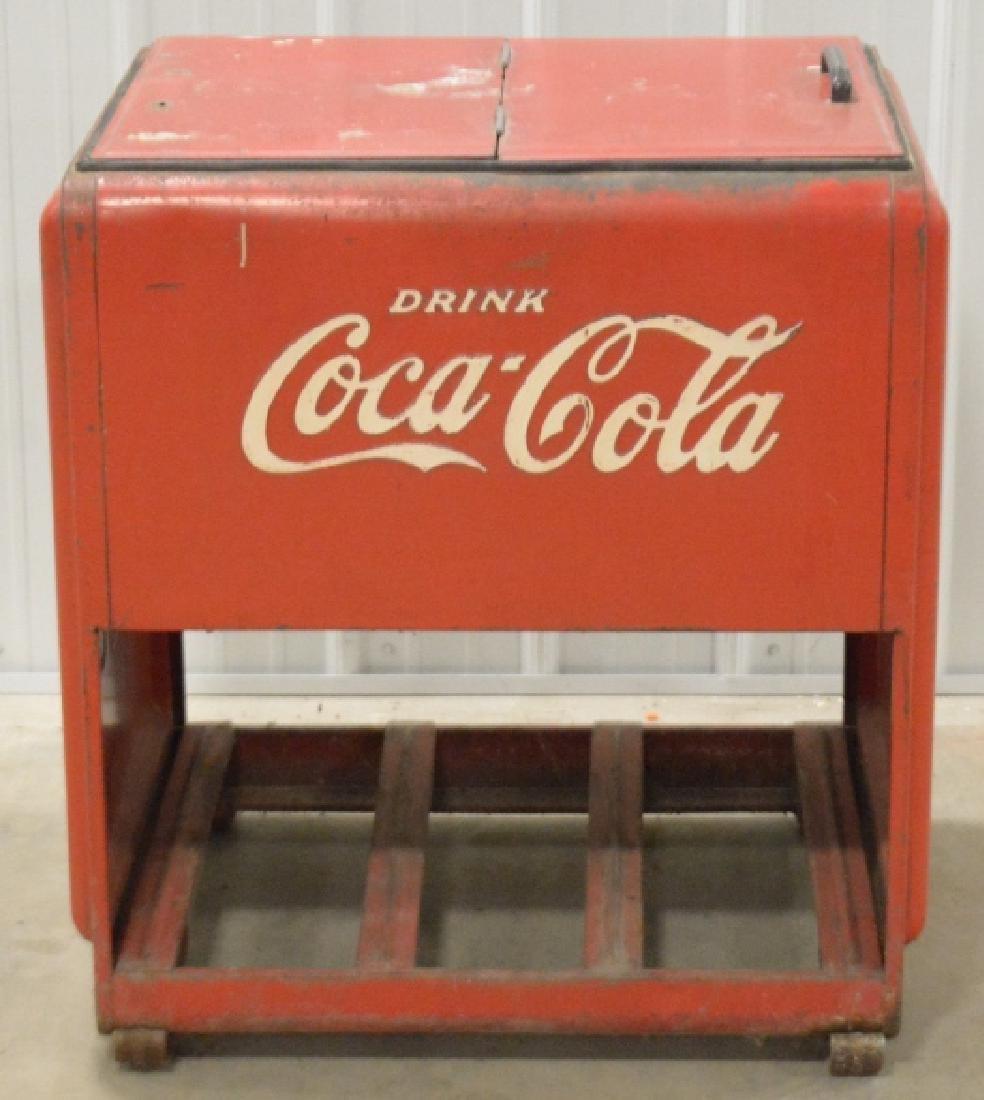 Standard Coca-Cola Ice Cooler