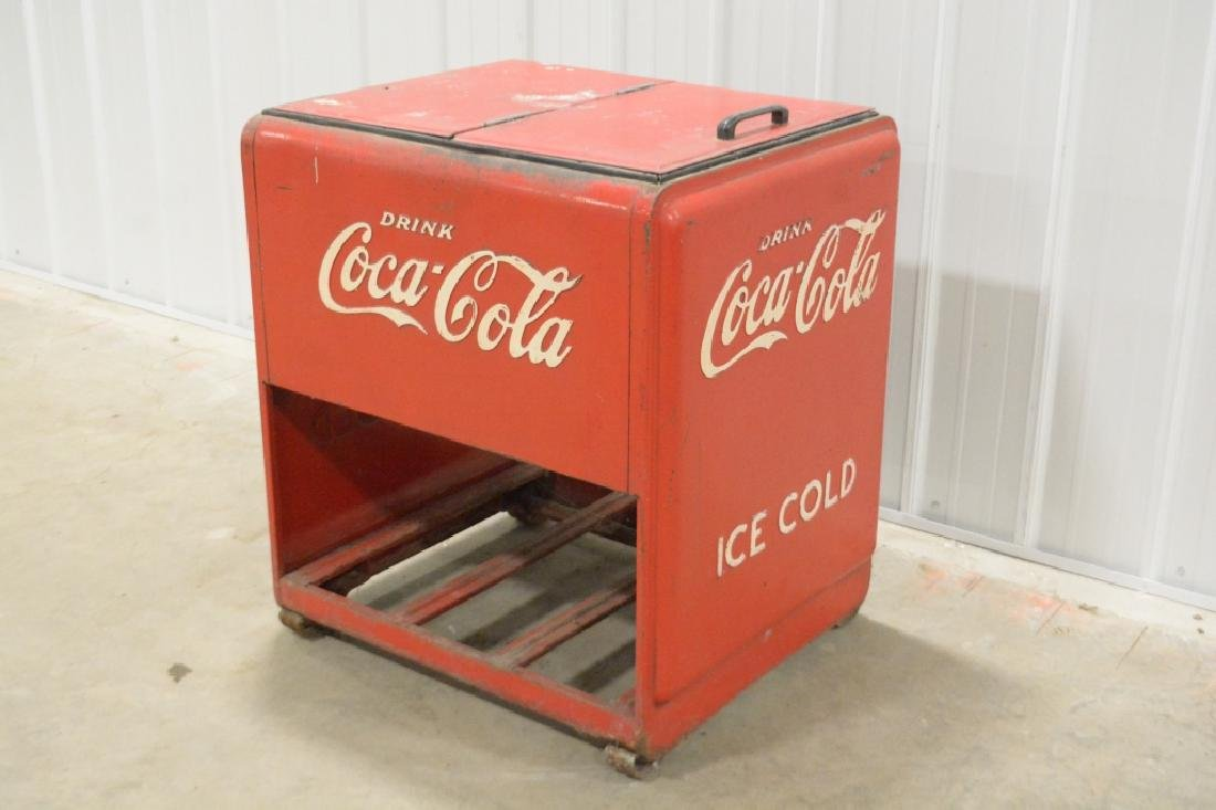 Standard Coca-Cola Ice Cooler - 2