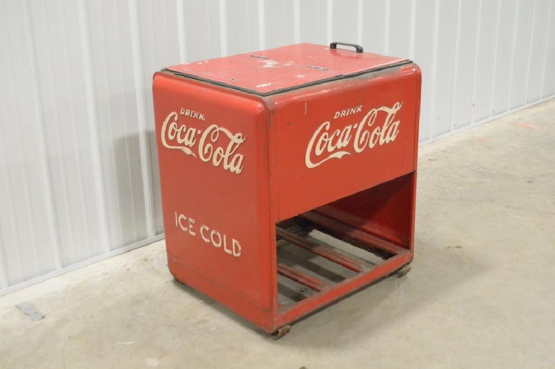 Standard Coca-Cola Ice Cooler - 3