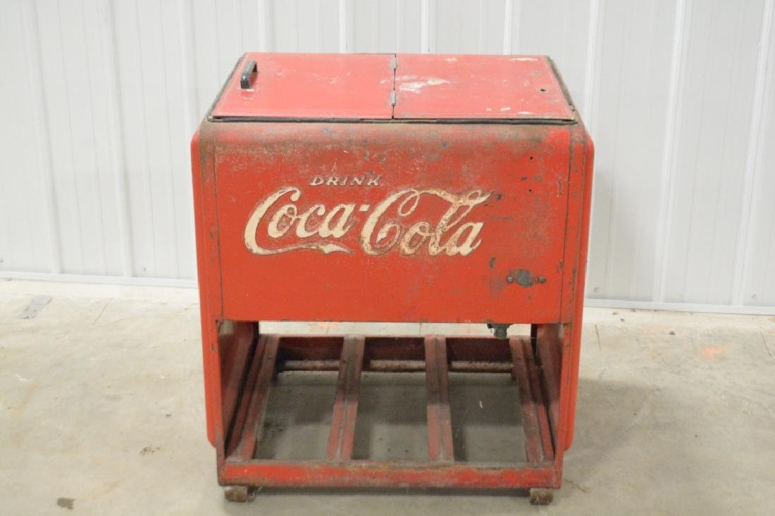 Standard Coca-Cola Ice Cooler - 4