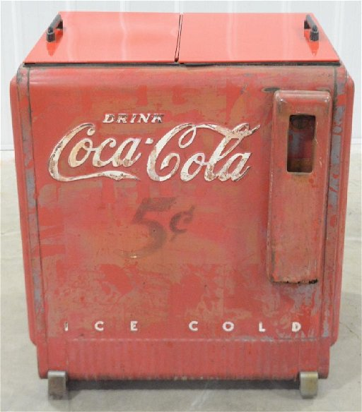 Vintage Electric Cavalier Coca Cola Cooler