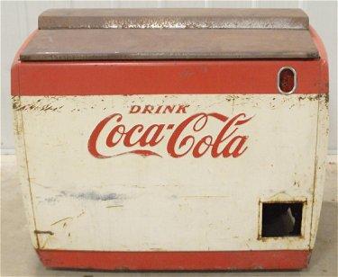 Vintage Electric Westinghouse Coca Cola Cooler
