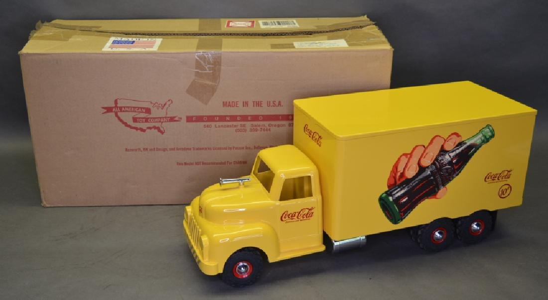 All American Toy Co. Coca-Cola Delivery Truck