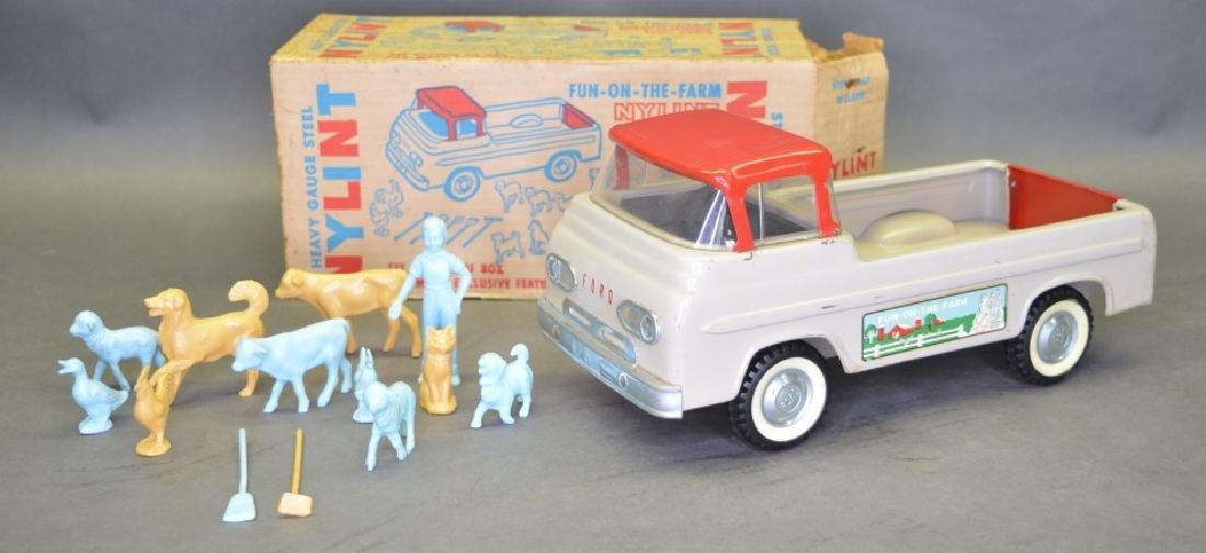 Original Ny-Lint No.7100 Fun-On-The-Farm Truck