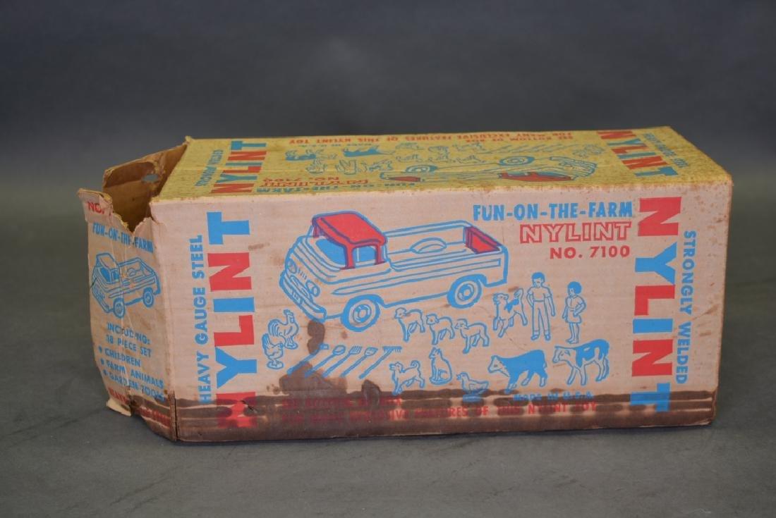 Original Ny-Lint No.7100 Fun-On-The-Farm Truck - 6