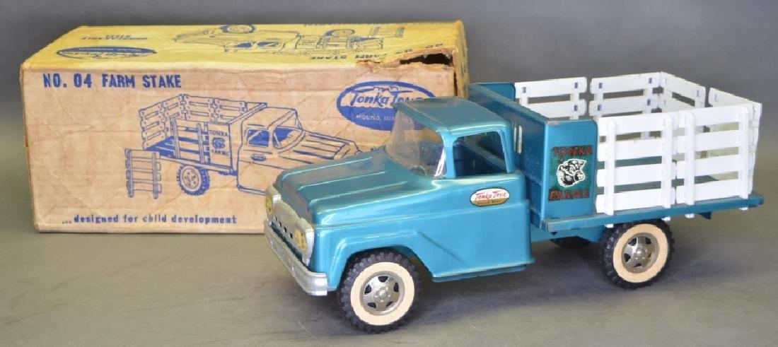 Original Tonka No.04 Farm Stake Truck
