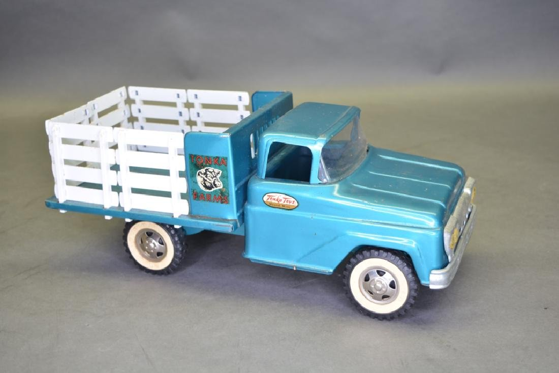 Original Tonka No.04 Farm Stake Truck - 3
