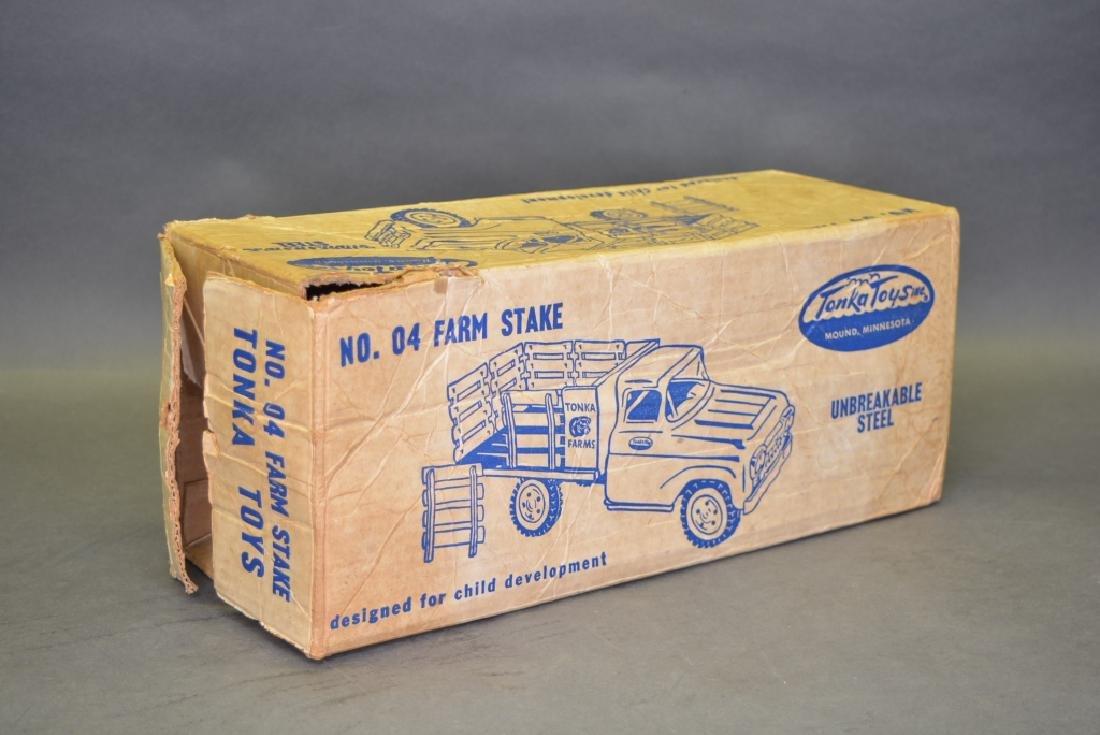Original Tonka No.04 Farm Stake Truck - 5