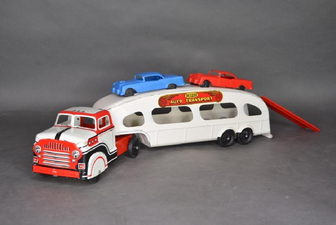 Original Louis Marx & Co. Auto Transport - 2
