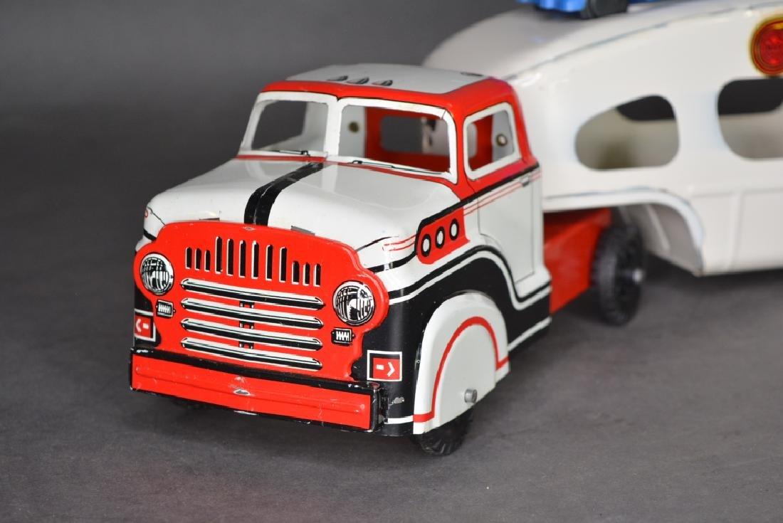 Original Louis Marx & Co. Auto Transport - 3