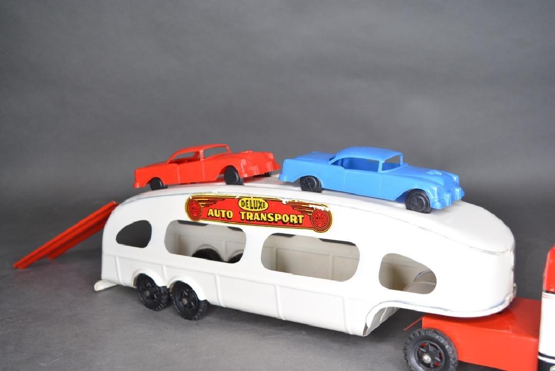 Original Louis Marx & Co. Auto Transport - 4