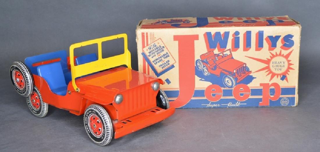 Original Louis Marx & Co. Willys Jeep
