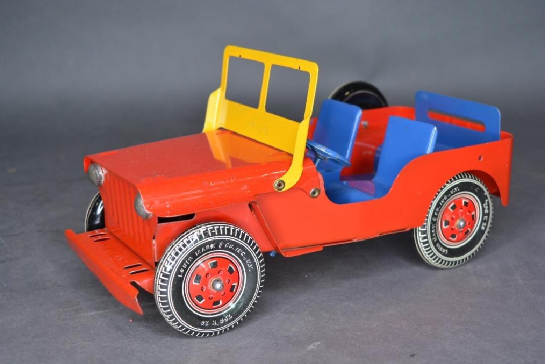 Original Louis Marx & Co. Willys Jeep - 2