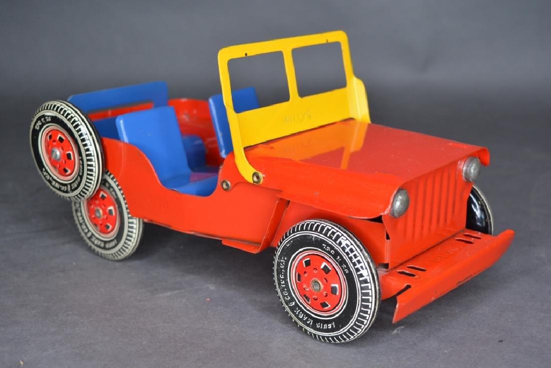 Original Louis Marx & Co. Willys Jeep - 3