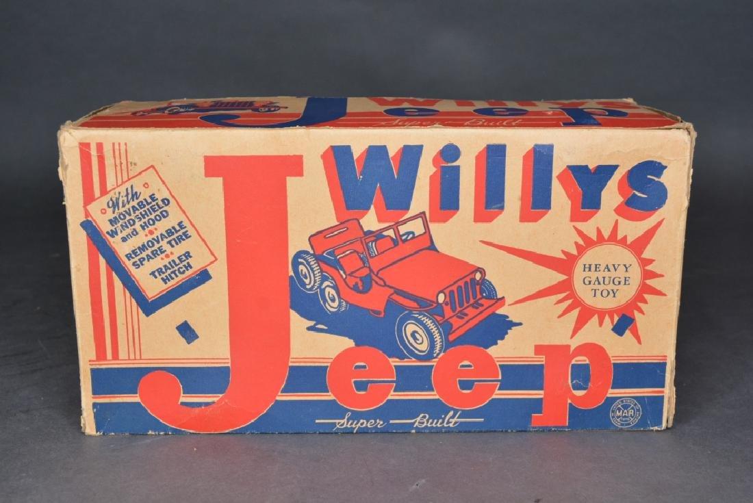 Original Louis Marx & Co. Willys Jeep - 5