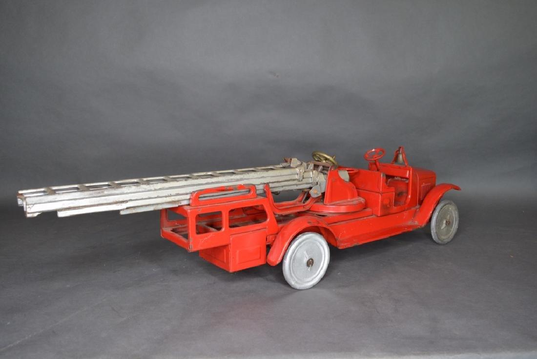 Buddy L Ladder Truck - 5