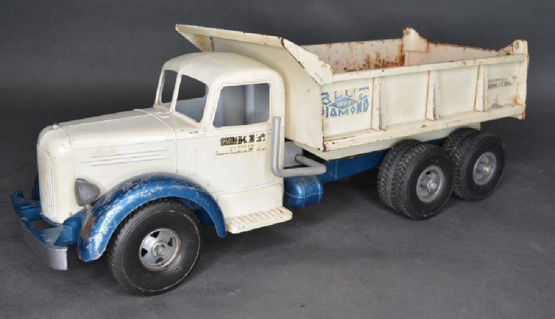 Original Smith Miller Blue Diamond Dump Truck
