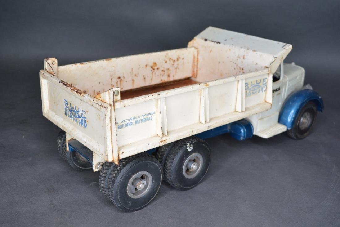 Original Smith Miller Blue Diamond Dump Truck - 4