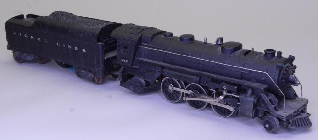 Lionel 1666 Steam Locomotive and Tender