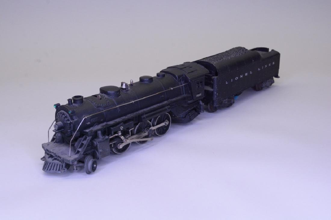 Lionel 1666 Steam Locomotive and Tender - 2