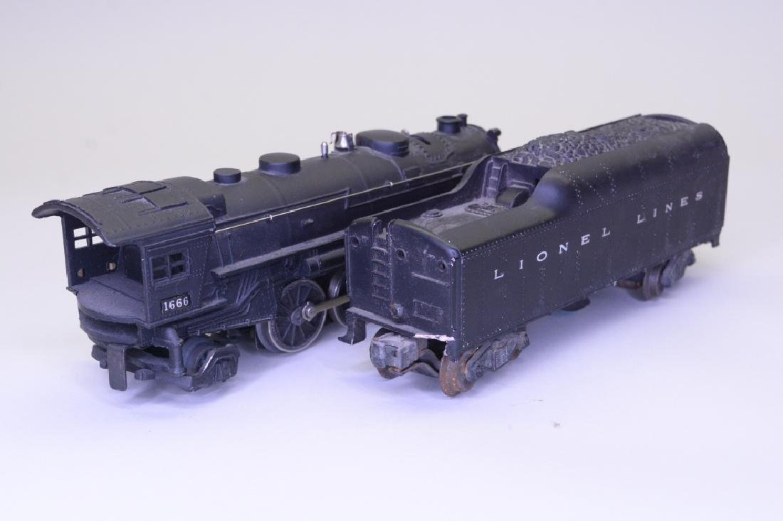 Lionel 1666 Steam Locomotive and Tender - 5