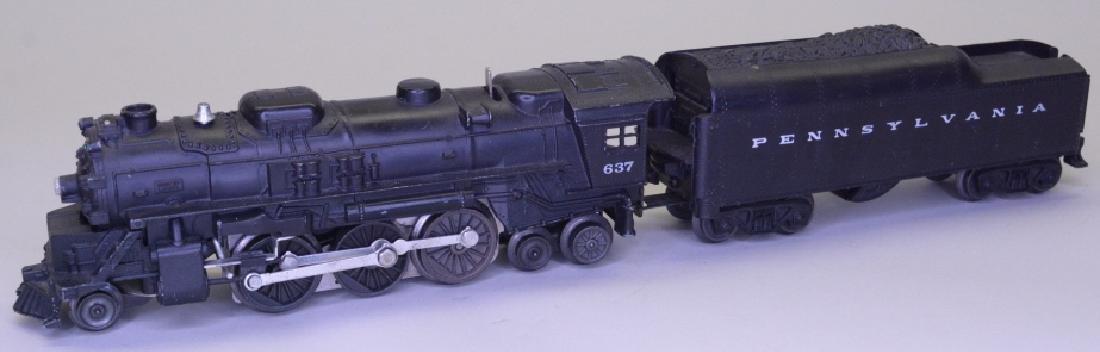 Lionel 637 Steam Locomotive With Tender