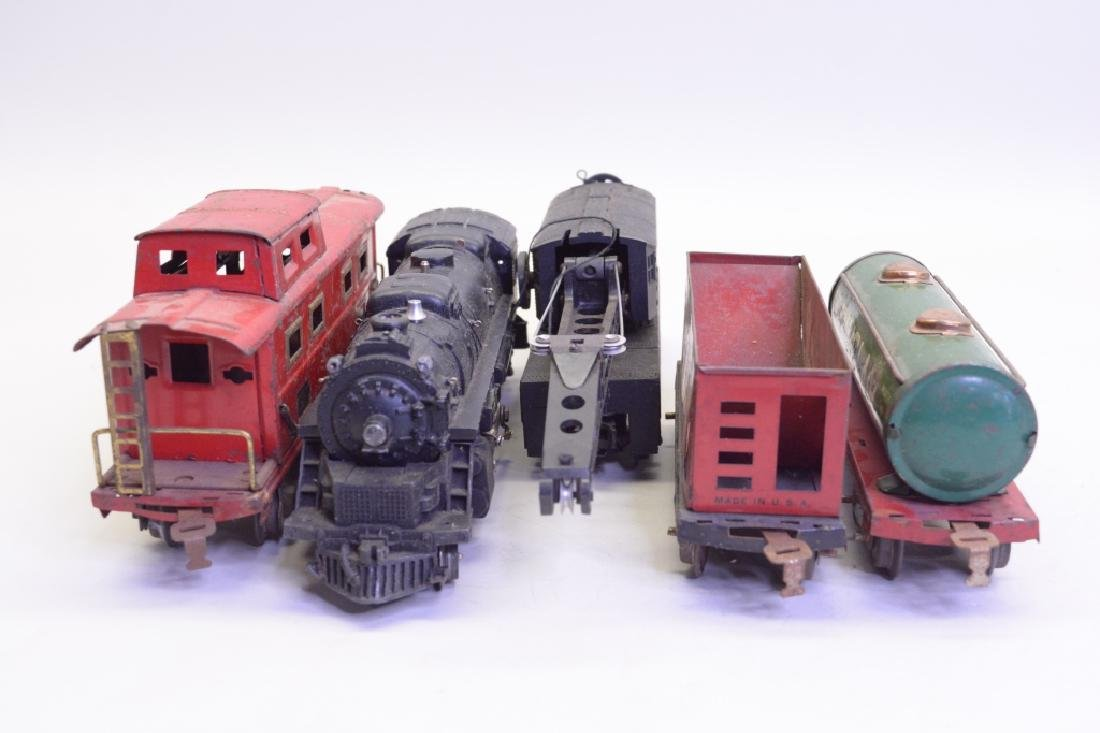 Mixed Lot Of Train Cars w/ Lionel 2026 Loco - 3