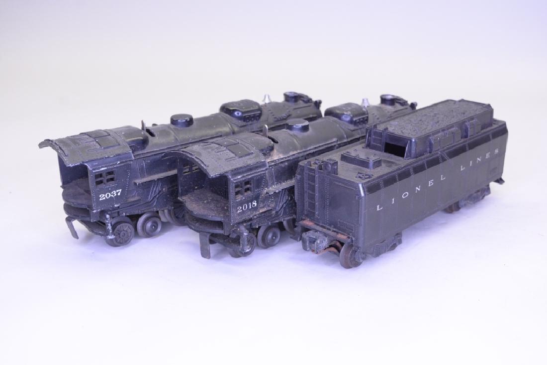 O Gauge Lionel Locomotive and Tender Lot - 4