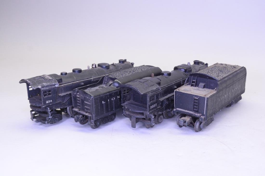 O Gauge Lionel Locomotive and Tender Lot - 4