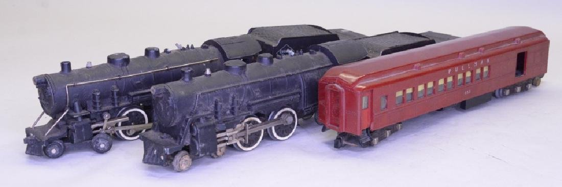 S Scale American Flyer Locomotive and Tender Lot