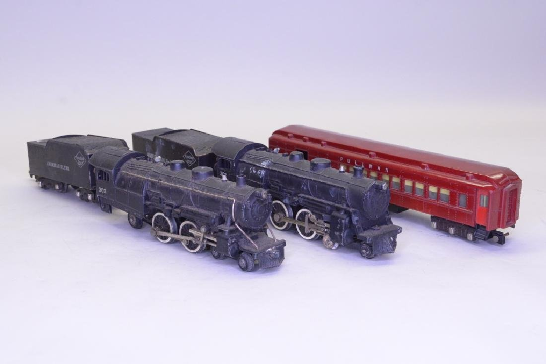 S Scale American Flyer Locomotive and Tender Lot - 2