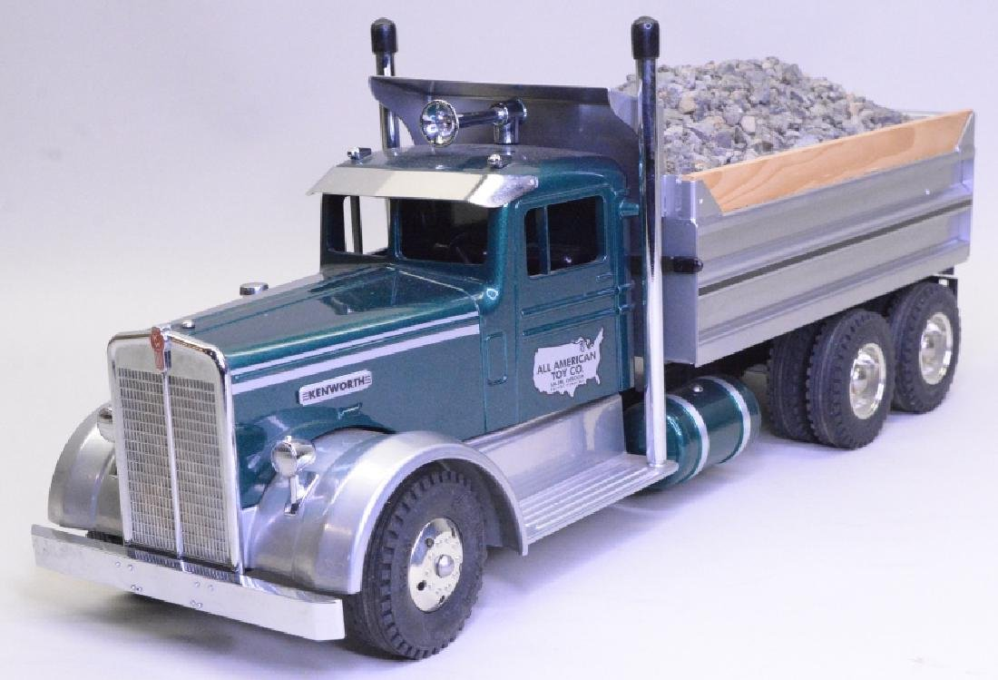 All American Toy Co. Kenworth Dump Truck