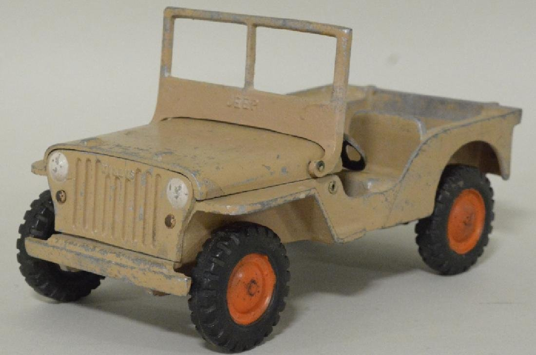 Al-Toy Die Cast  Aluminum Willy's Jeep