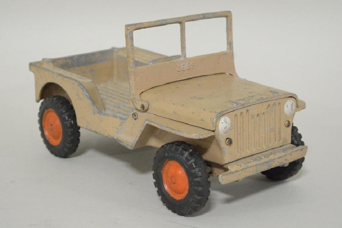Al-Toy Die Cast  Aluminum Willy's Jeep - 2