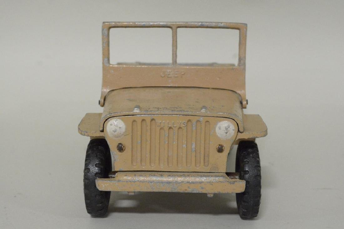 Al-Toy Die Cast  Aluminum Willy's Jeep - 3