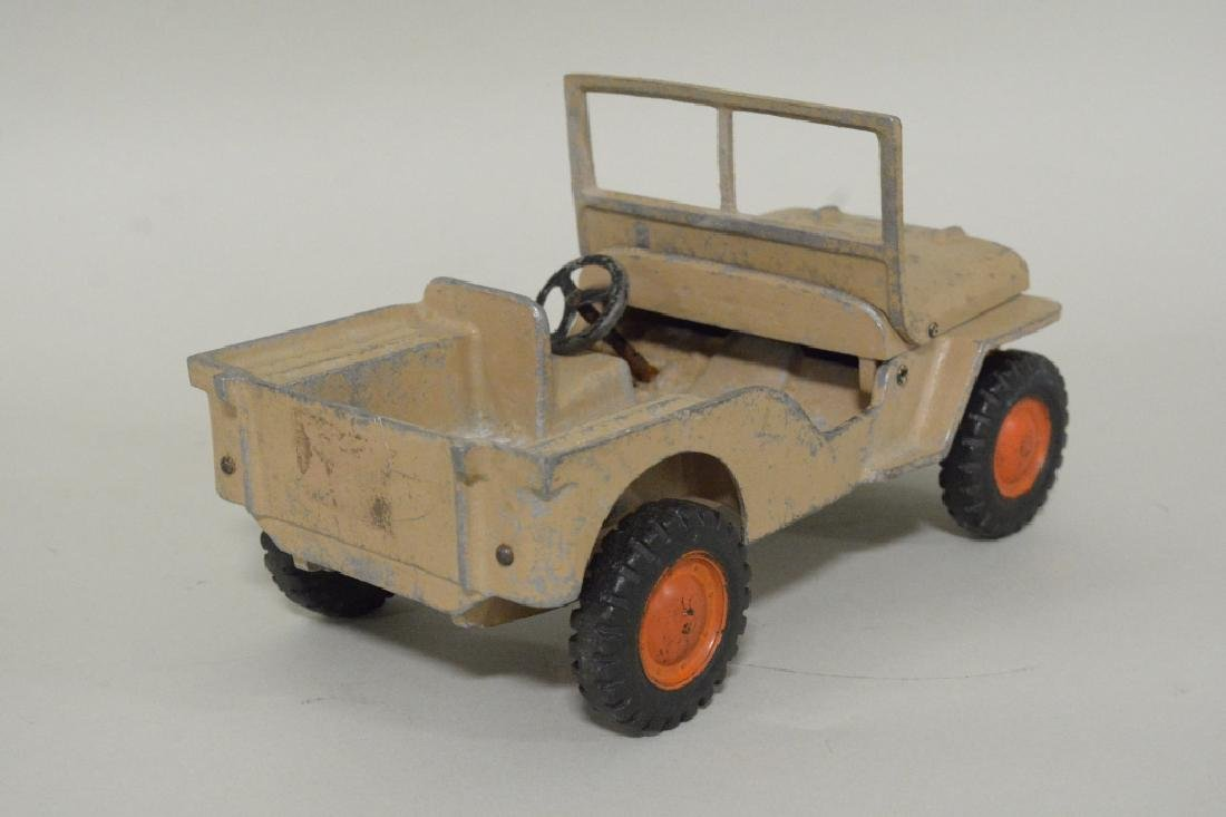 Al-Toy Die Cast  Aluminum Willy's Jeep - 4