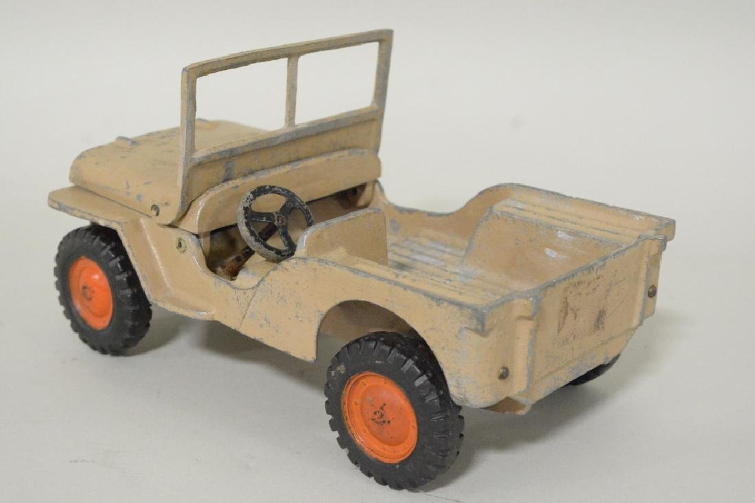 Al-Toy Die Cast  Aluminum Willy's Jeep - 5