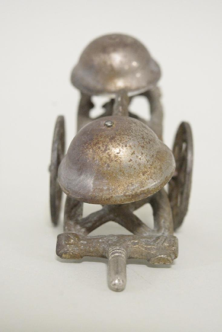 Gong Toy Cast Iron Men Hitting Heads On Bell - 4