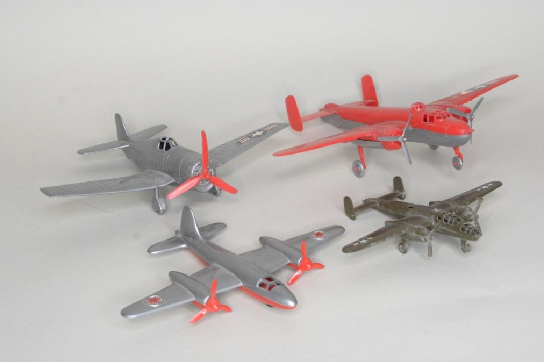 Four Hubley Miltary Airplanes - 2