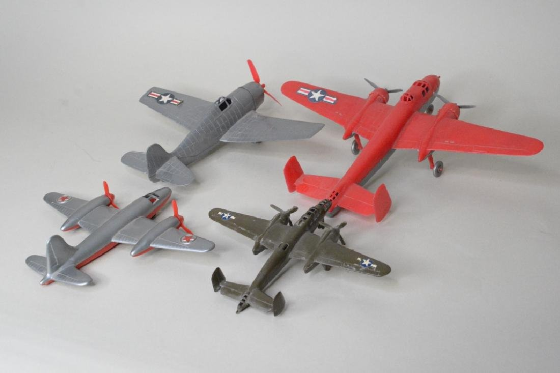 Four Hubley Miltary Airplanes - 3