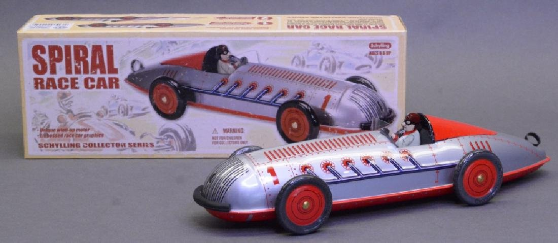 Schylling Wind Up Spiral Race Car