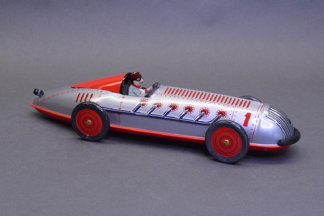 Schylling Wind Up Spiral Race Car - 2