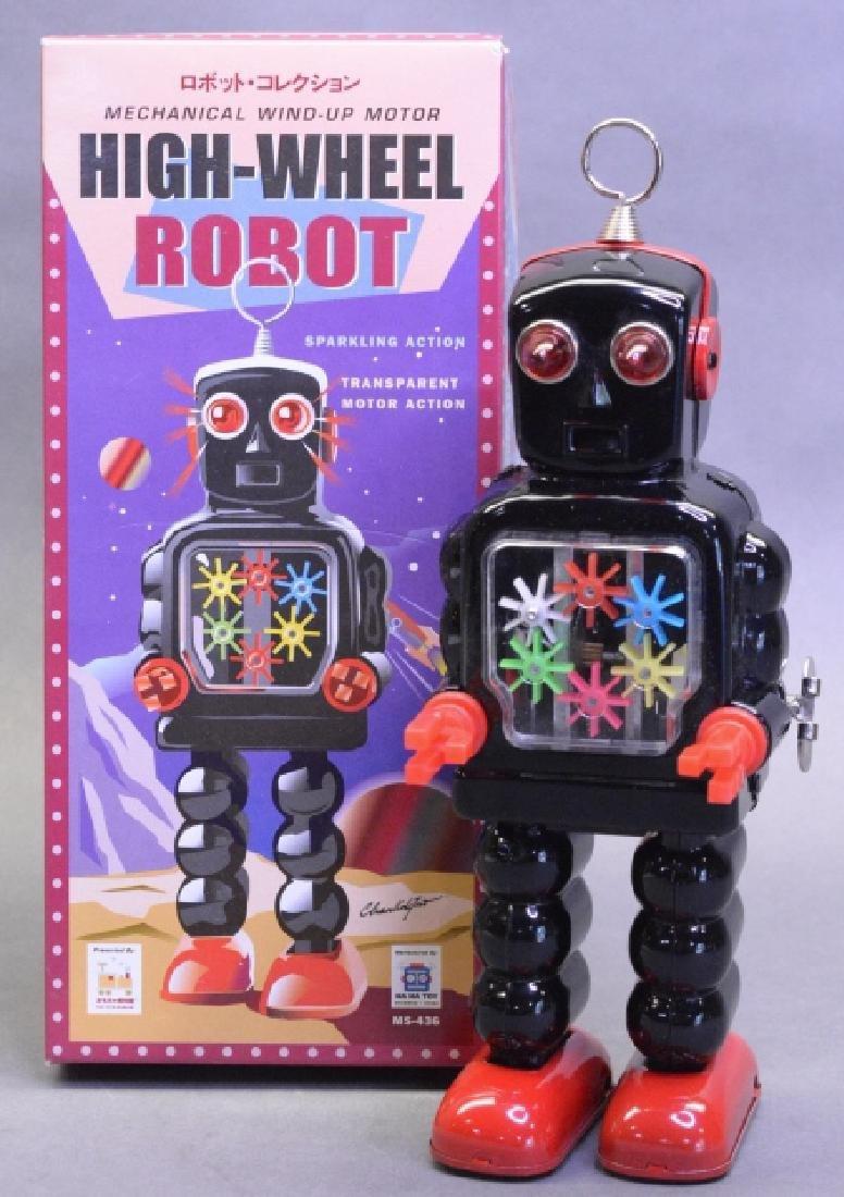 Ha Ha Toys Wind Up High-Wheel Robot MS436