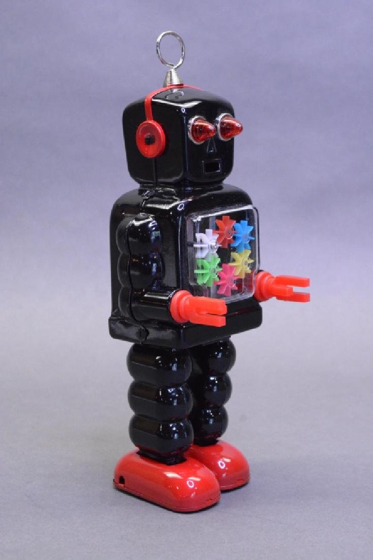 Ha Ha Toys Wind Up High-Wheel Robot MS436 - 2