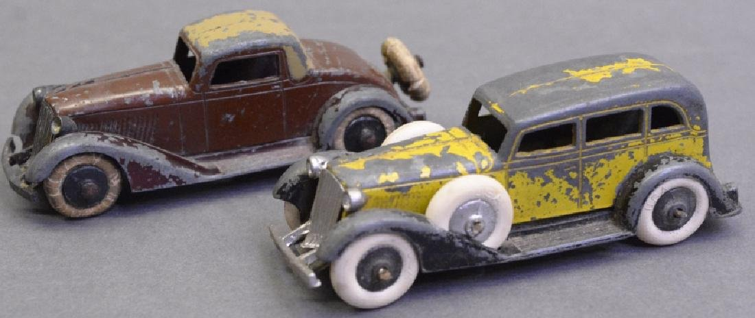 Lot of Two Tootsie Toy Cars