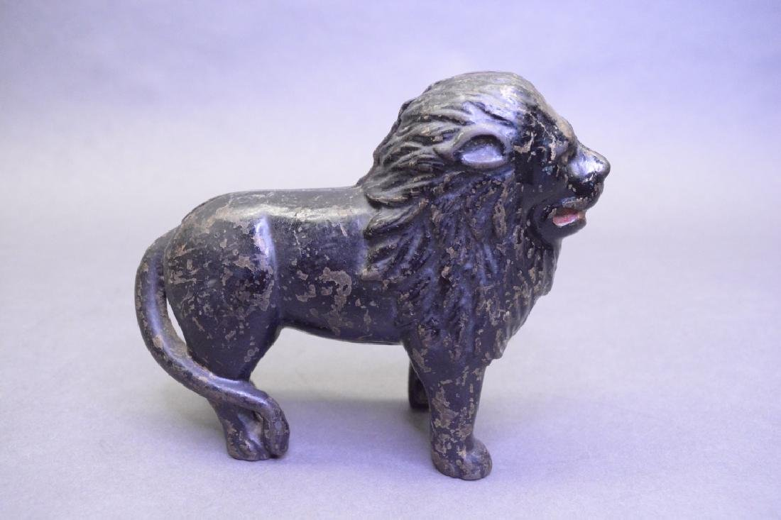 A.C Williams Cast Iron Lion Bank - 3