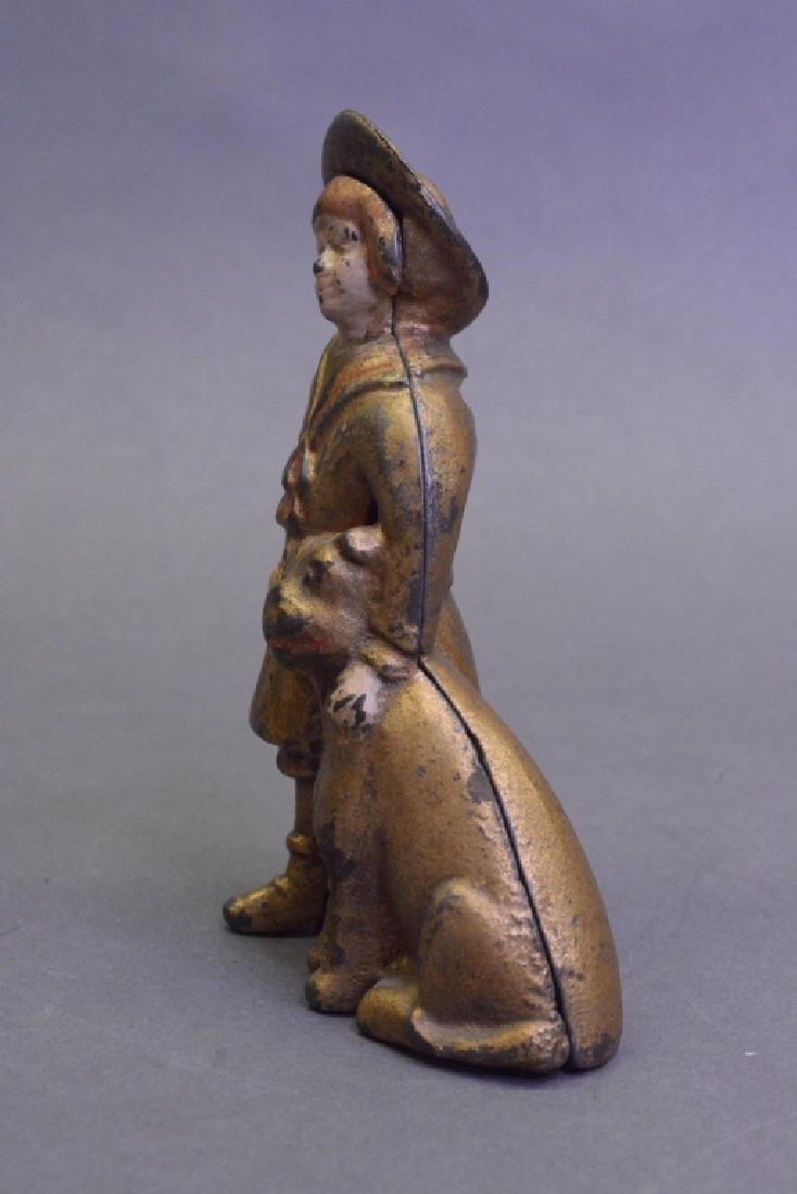 A.C Williams Cast Iron Buster Brown & Tige Bank - 2